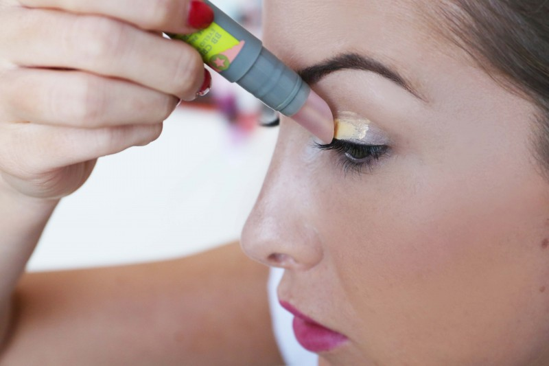 Air Patrol, launched September. Hydrates, protects, colour corrects and locks down eye shadow!