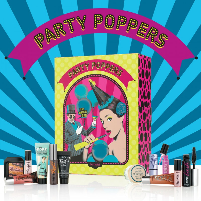 Benefit party countdown! Party poppers is available from 15/10