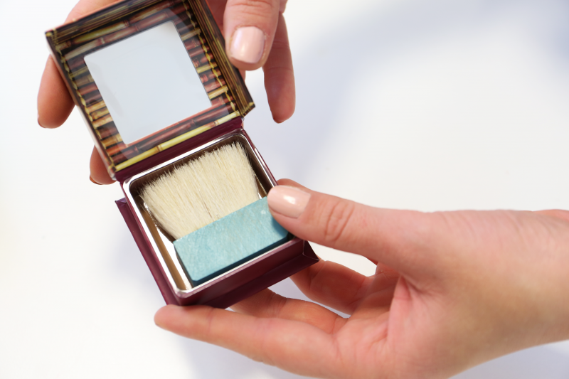 hoola bronzer is perfect for contouring!