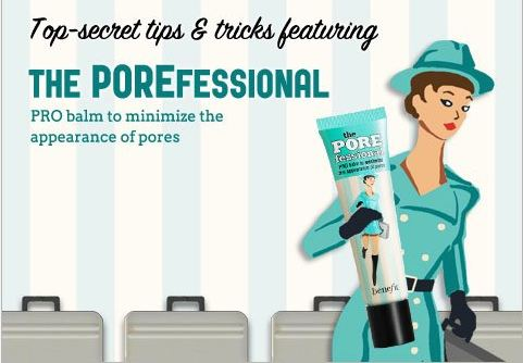 Benefit cosmetics POREfessional Face Primer tips and tricks