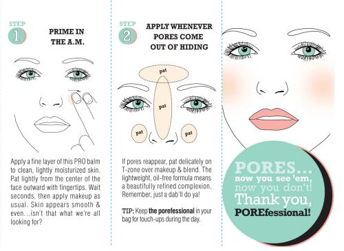 How to apply Benefit cosmetics POREfessional Face Primer
