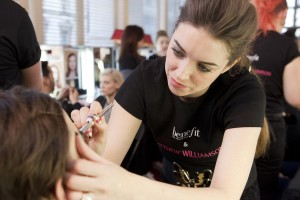 Benefit Cosmetics Head Makeup & Trend Artist, Lisa Potter-Dixon