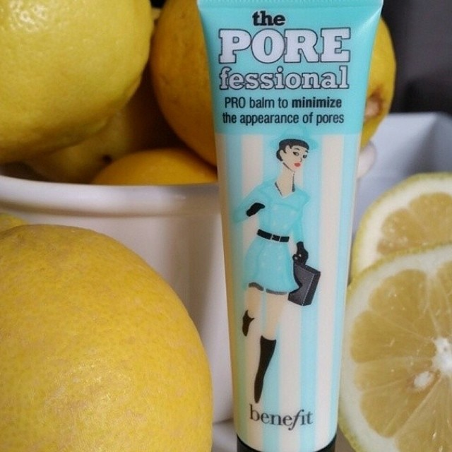 POREfessional with lemons