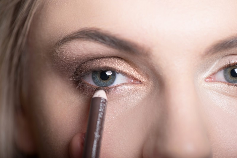 Step 6- brown liner